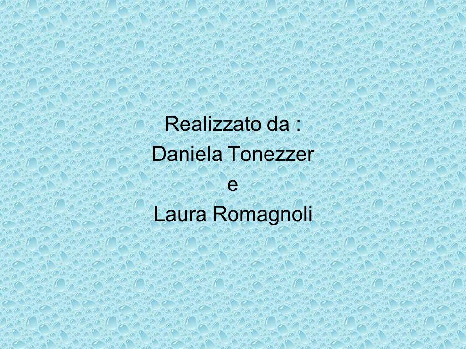 Realizzato da : Daniela Tonezzer e Laura Romagnoli