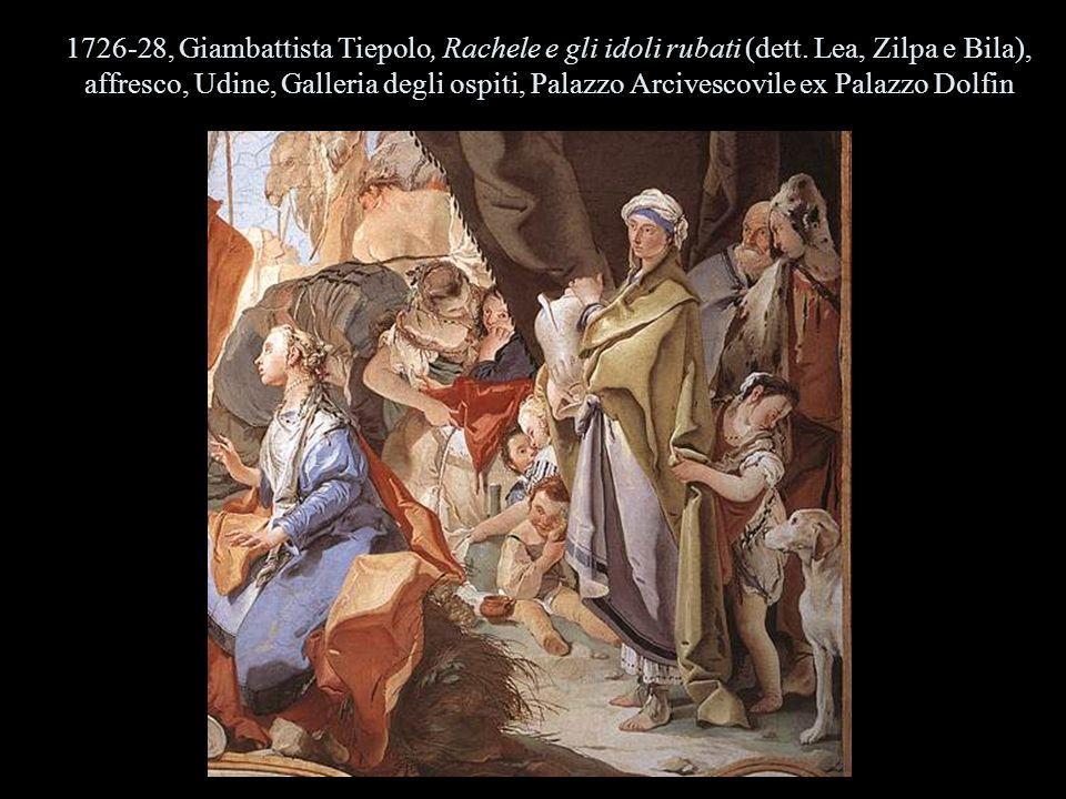 1726-28, Giambattista Tiepolo, Rachele e gli idoli rubati (dett