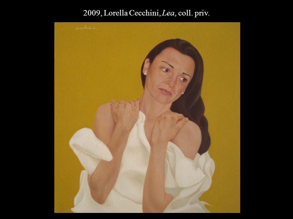 2009, Lorella Cecchini, Lea, coll. priv.