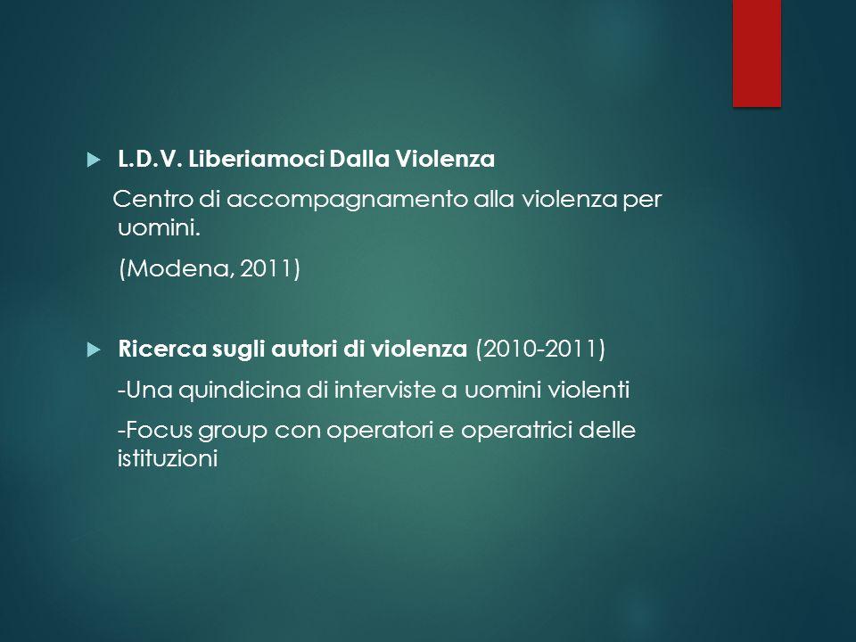 L.D.V. Liberiamoci Dalla Violenza