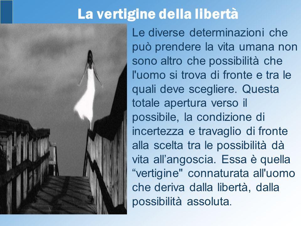 La vertigine della libertà
