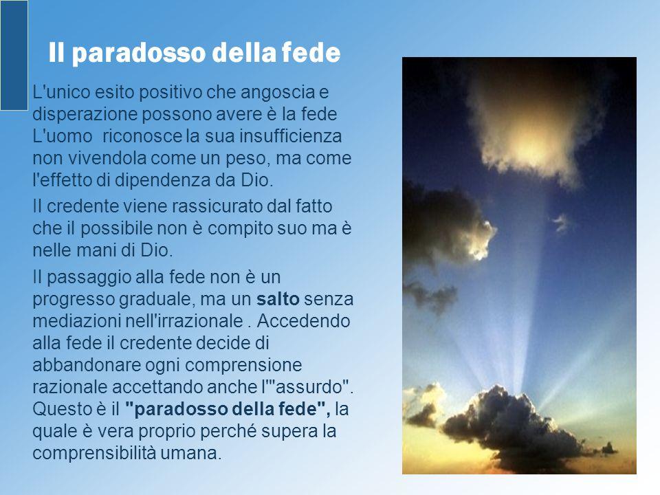 Il paradosso della fede