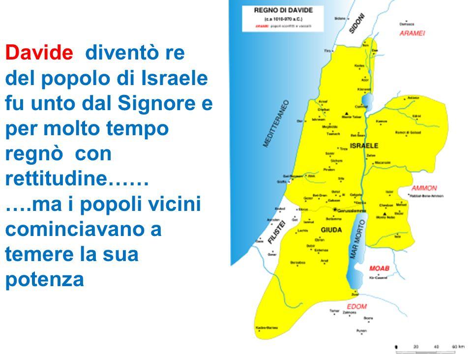 Davide diventò re del popolo di Israele