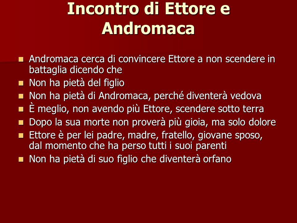 Incontro di Ettore e Andromaca