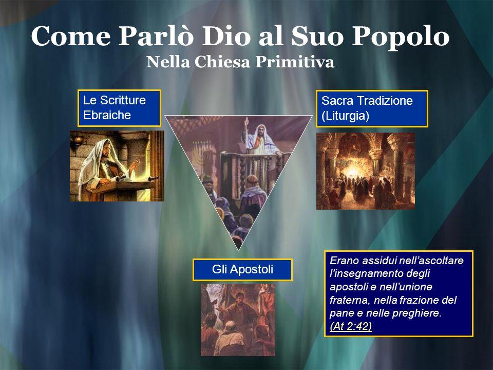 Come Parlò Dio al Suo Popolo Nella Chiesa Primitiva
