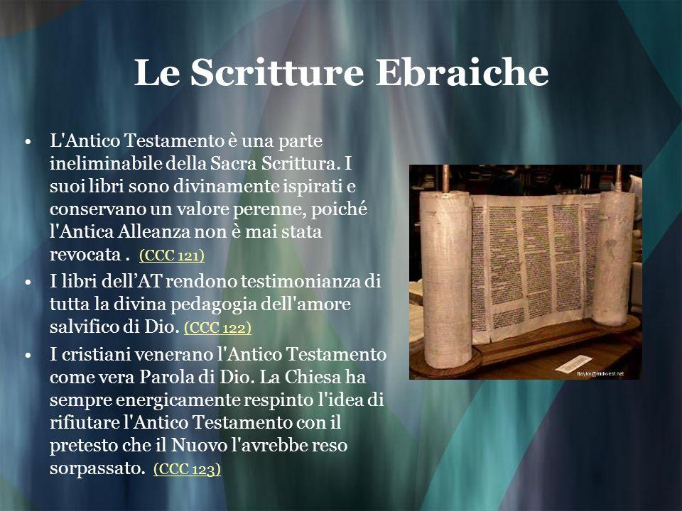 Le Scritture Ebraiche