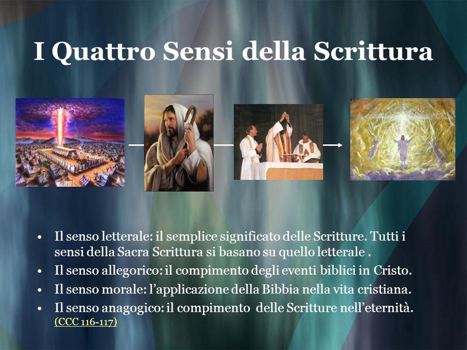 I Quattro Sensi della Scrittura