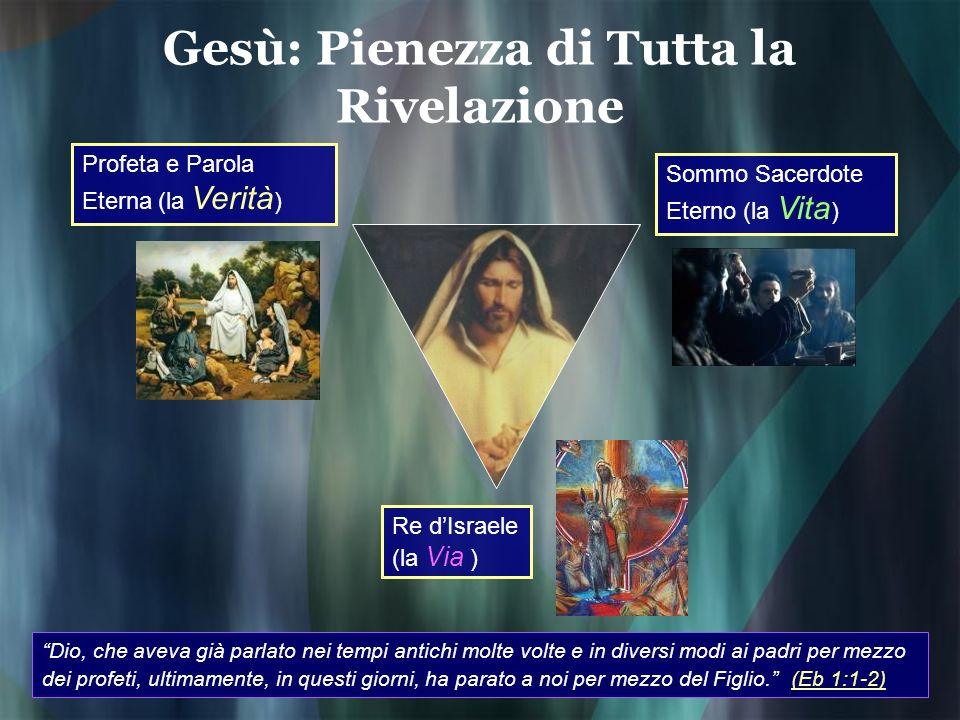 Gesù: Pienezza di Tutta la Rivelazione