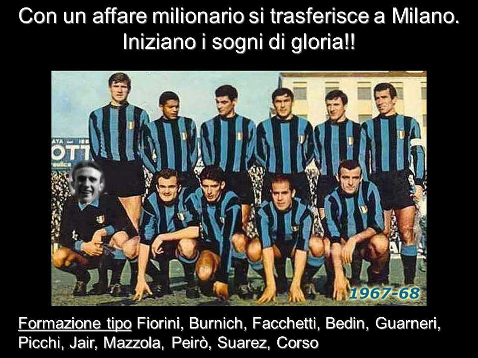 Con un affare milionario si trasferisce a Milano