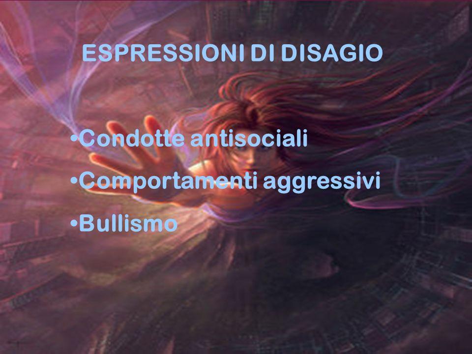 ESPRESSIONI DI DISAGIO