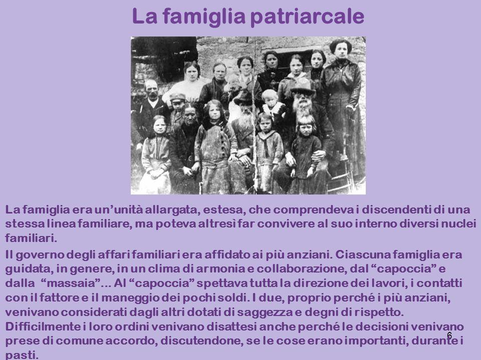 La famiglia patriarcale