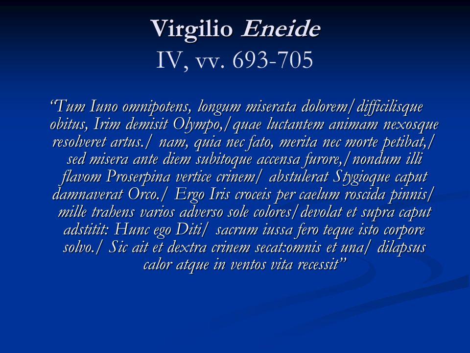 Virgilio Eneide IV, vv. 693-705