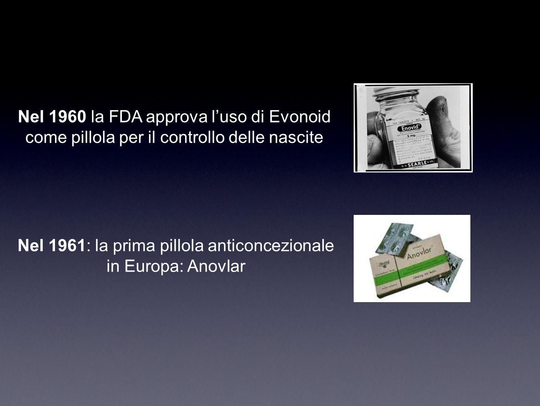 Nel 1960 la FDA approva l'uso di Evonoid