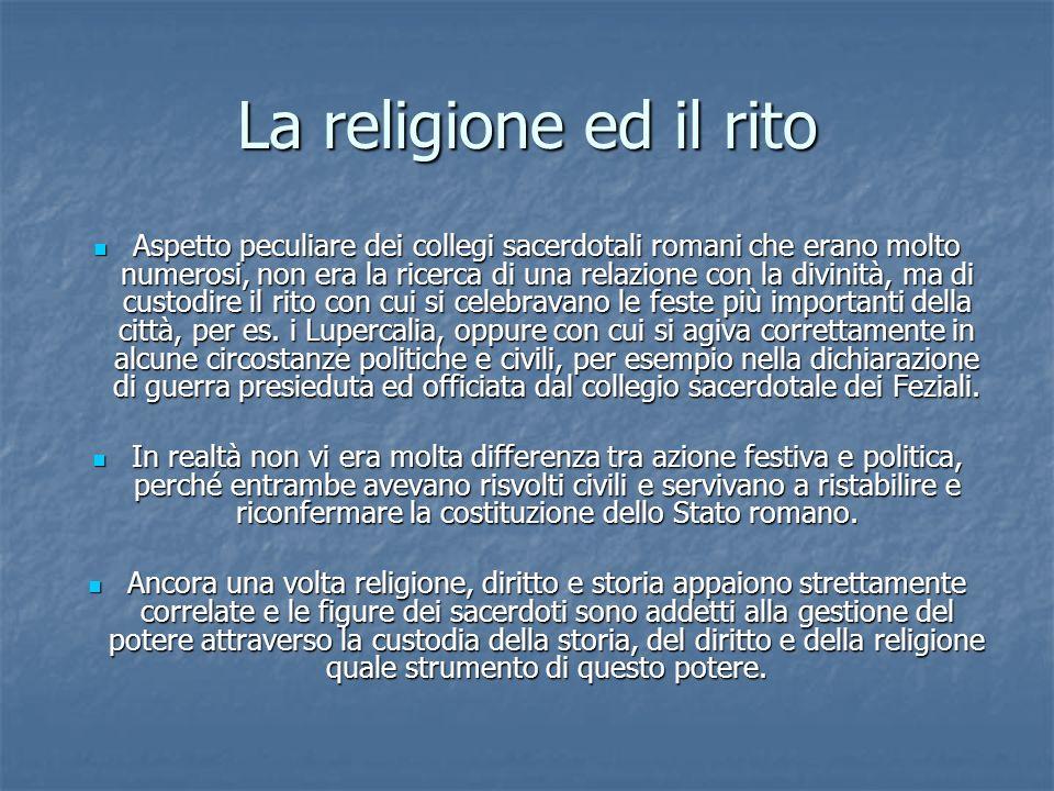 La religione ed il rito