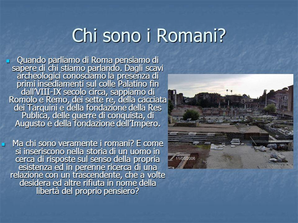 Chi sono i Romani