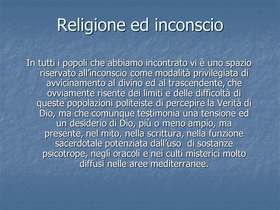 Religione ed inconscio
