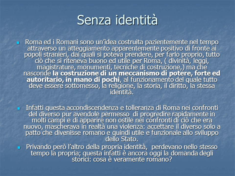 Senza identità