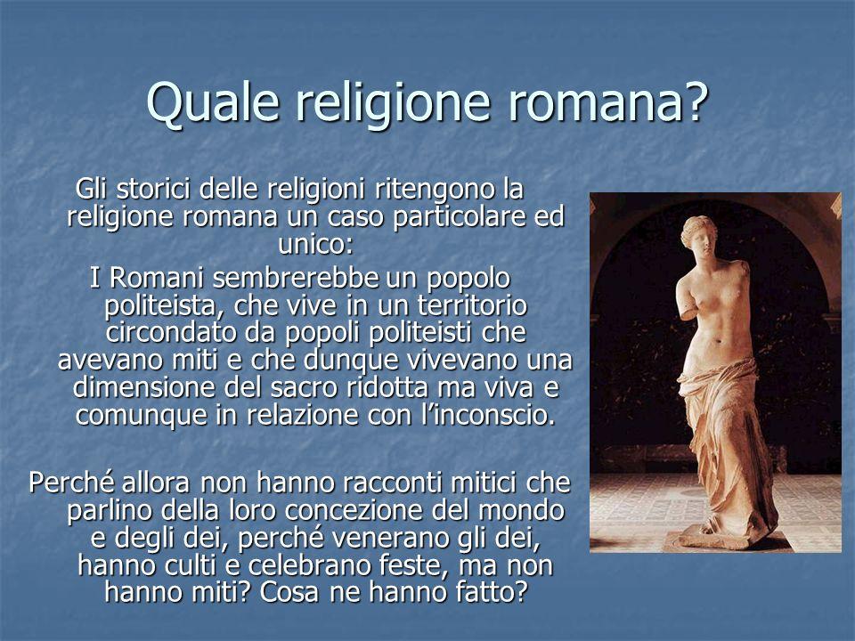 Quale religione romana