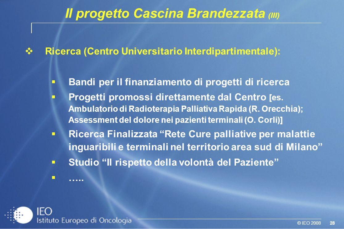 Il progetto Cascina Brandezzata (III)