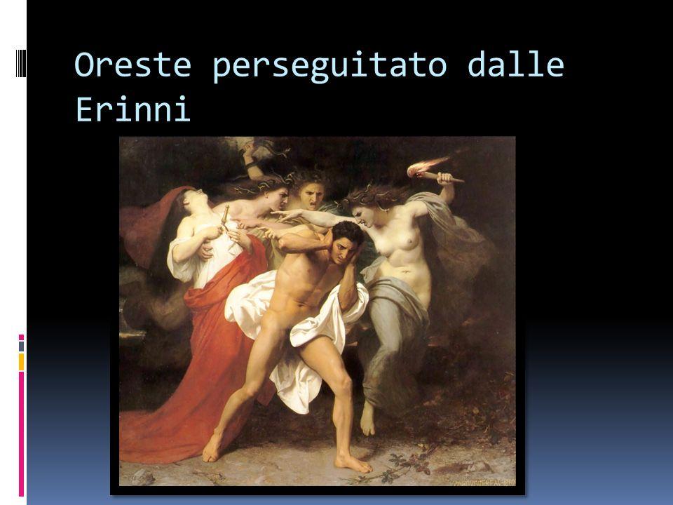 Oreste perseguitato dalle Erinni