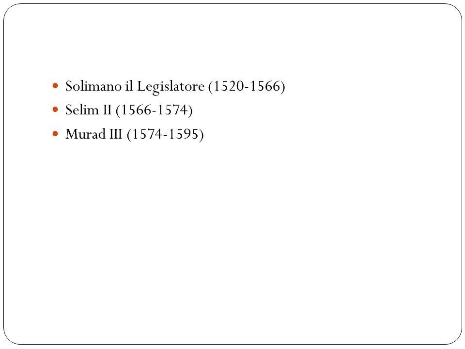 Solimano il Legislatore (1520-1566)