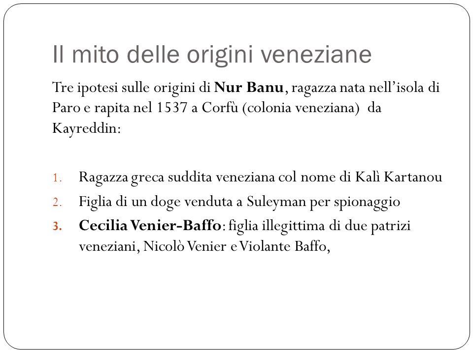 Il mito delle origini veneziane