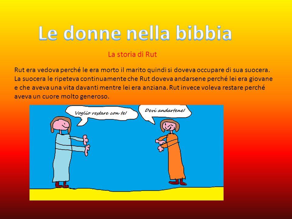 Le donne nella bibbia La storia di Rut