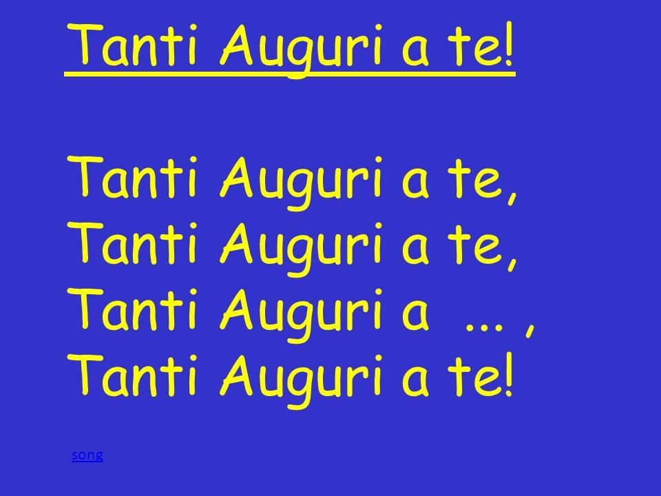 Conosciuto Tanti Auguri a te! Tanti Auguri a te, Tanti Auguri a  , song  VX46