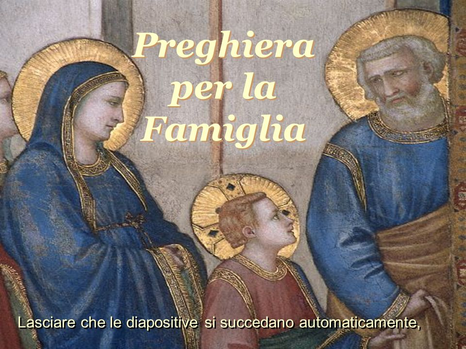 Preghiera per la Famiglia