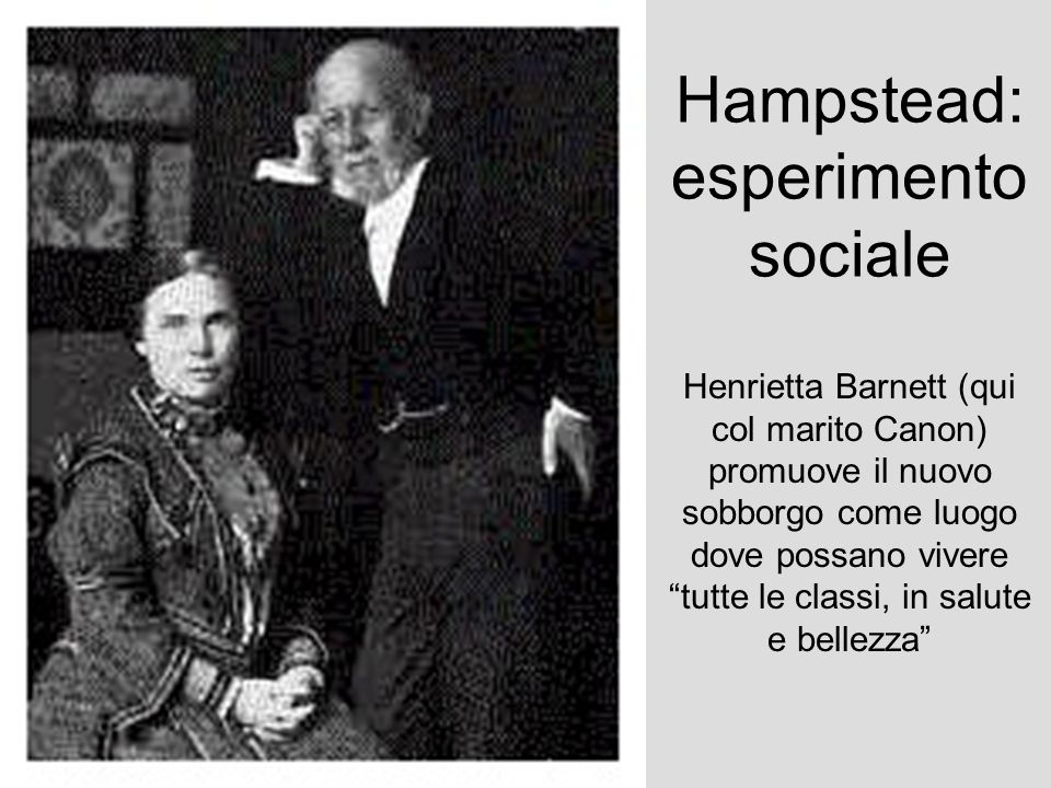 Hampstead:esperimento sociale