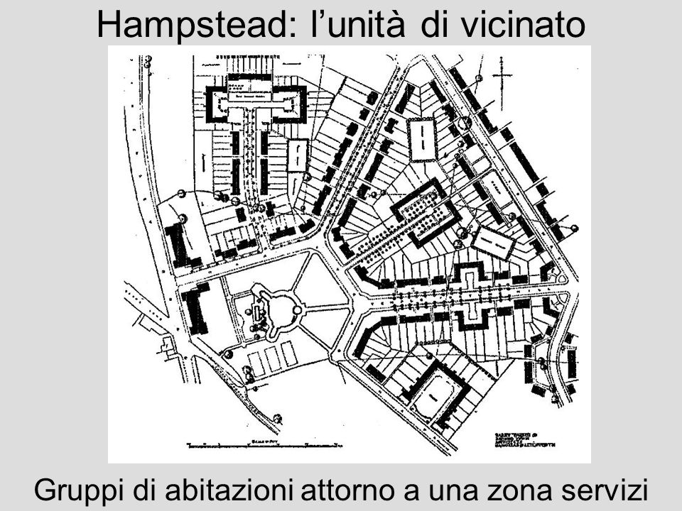Hampstead: l'unità di vicinato
