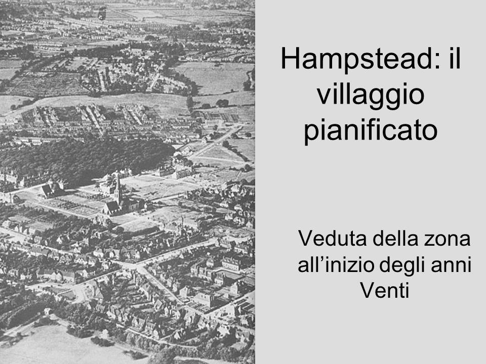 Hampstead: il villaggio pianificato