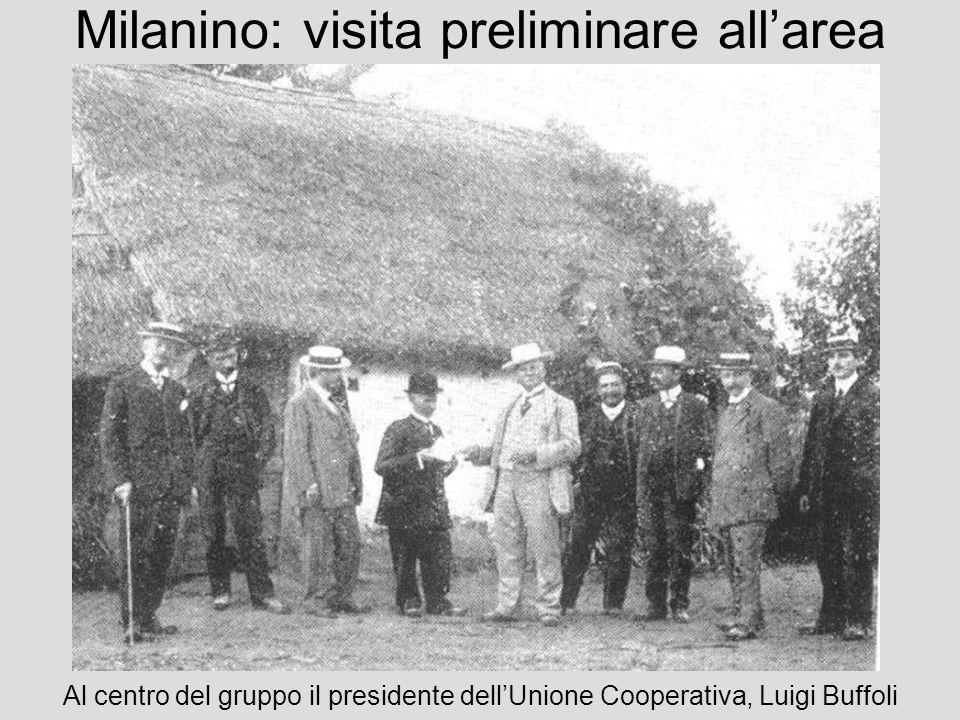 Milanino: visita preliminare all'area