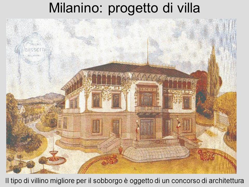 Milanino: progetto di villa