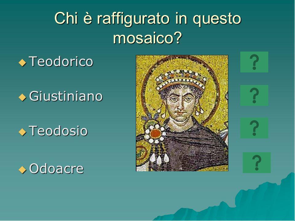 Chi è raffigurato in questo mosaico
