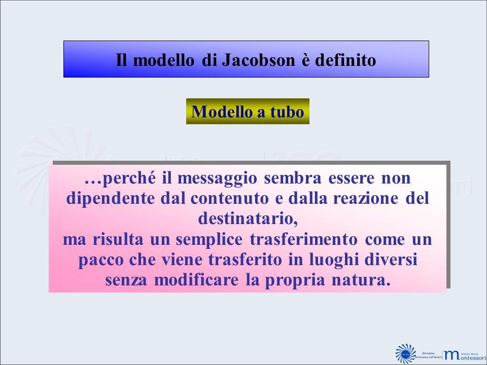 Il modello di Jacobson è definito