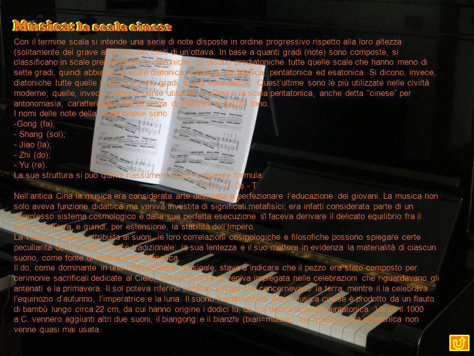 Musica: la scala cinese