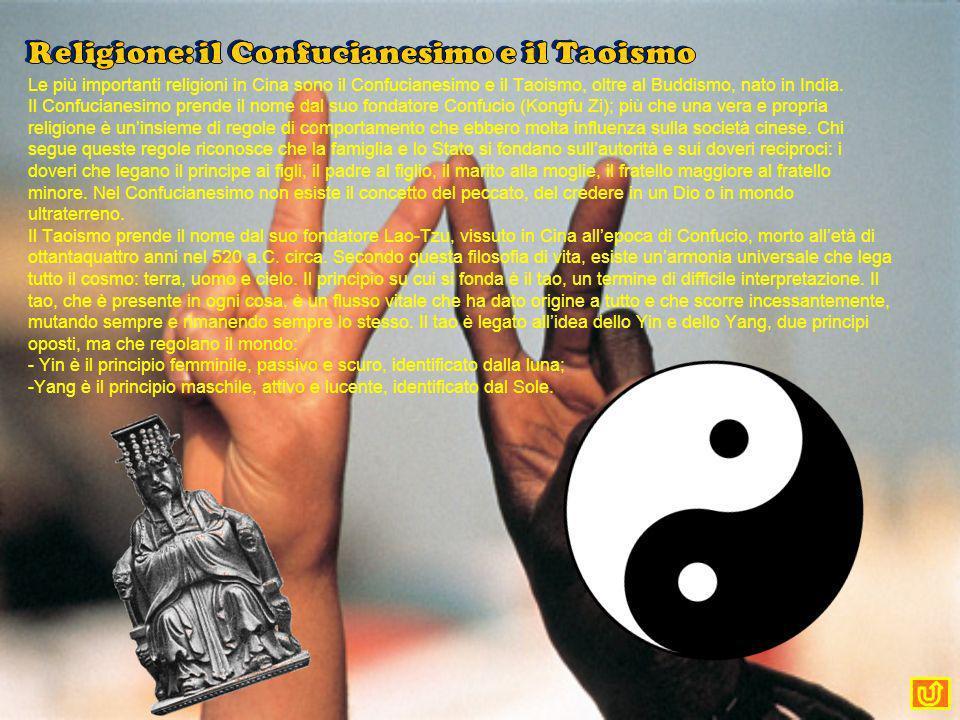 Religione: il Confucianesimo e il Taoismo