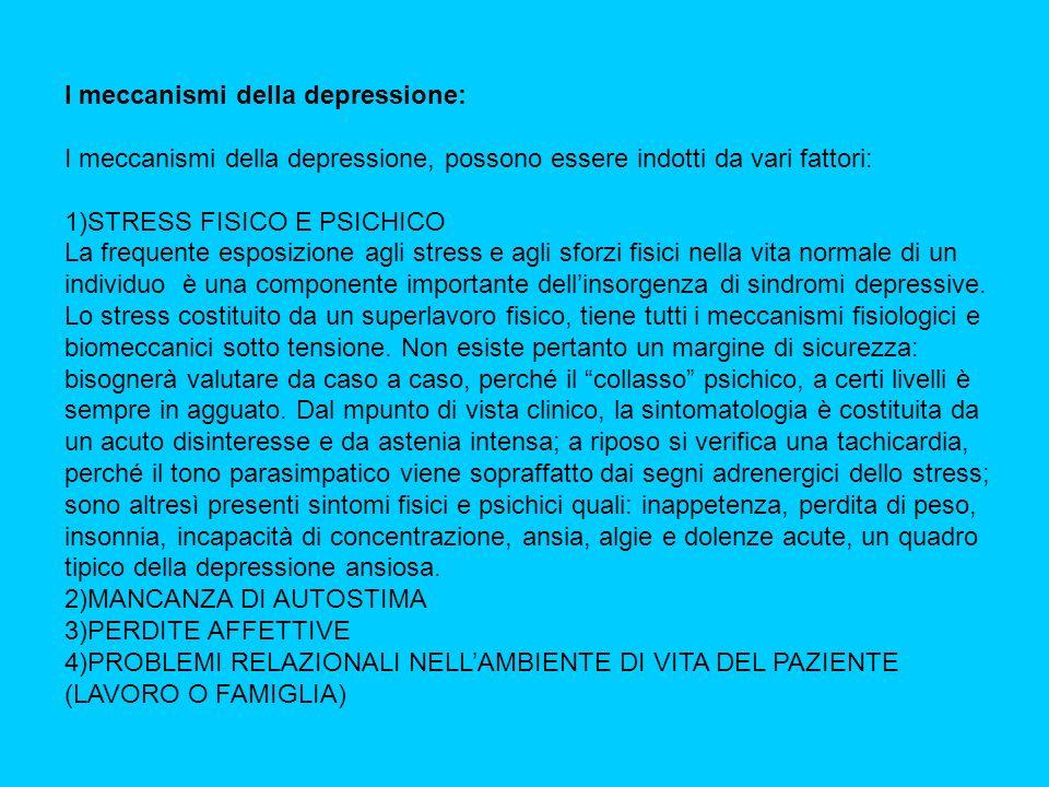 I meccanismi della depressione: