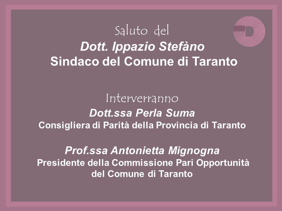 Sindaco del Comune di Taranto
