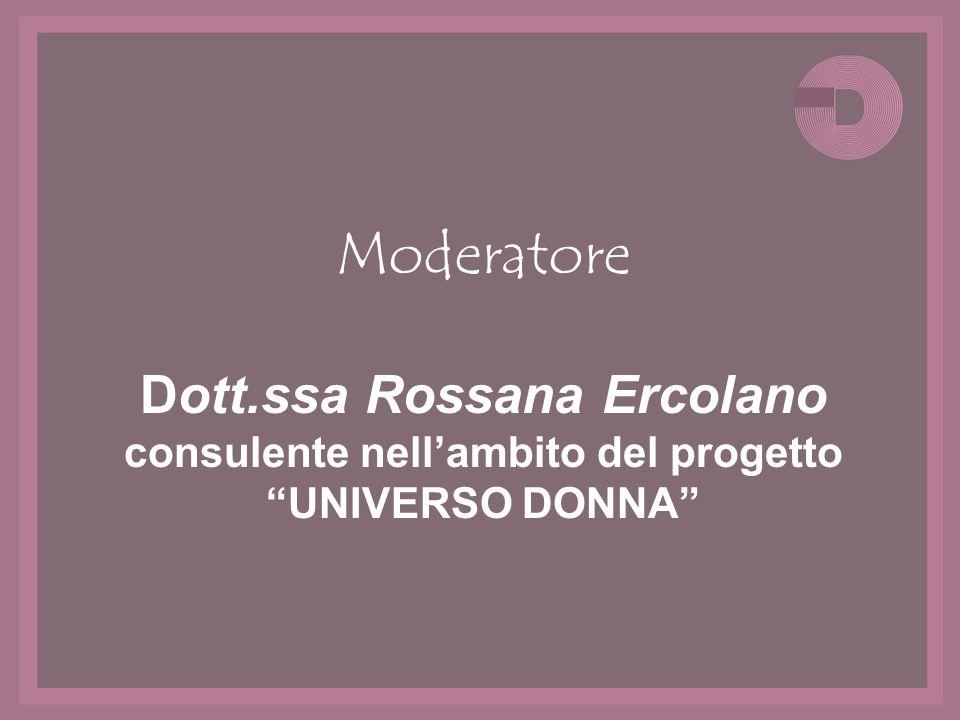 Dott.ssa Rossana Ercolano