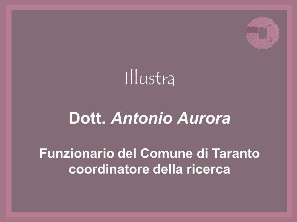 Funzionario del Comune di Taranto