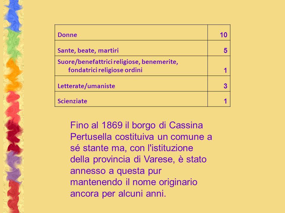 Donne 10. Sante, beate, martiri. 5. Suore/benefattrici religiose, benemerite, fondatrici religiose ordini.