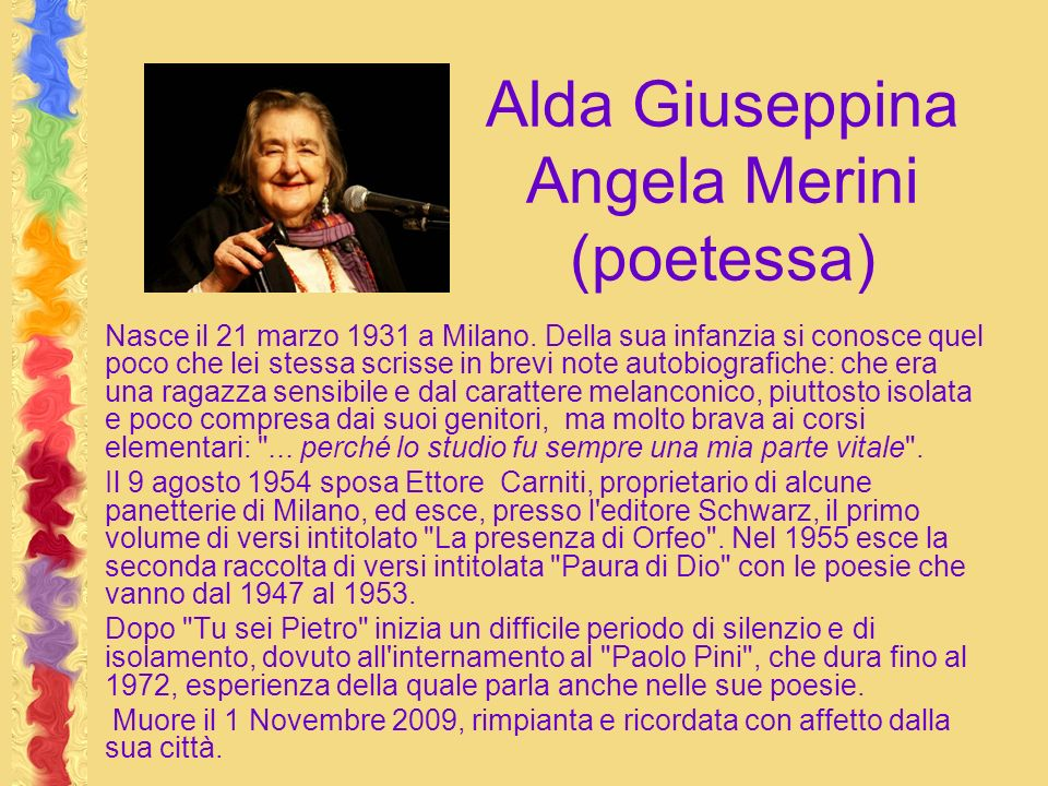 Alda Giuseppina Angela Merini (poetessa)