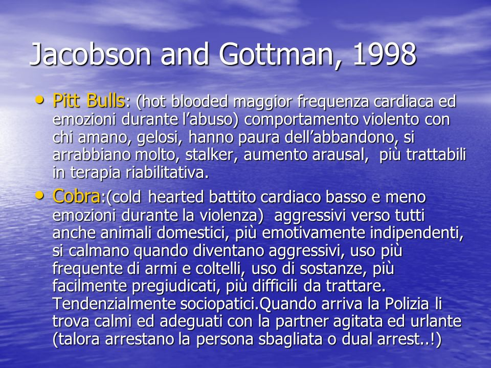 Jacobson and Gottman, 1998
