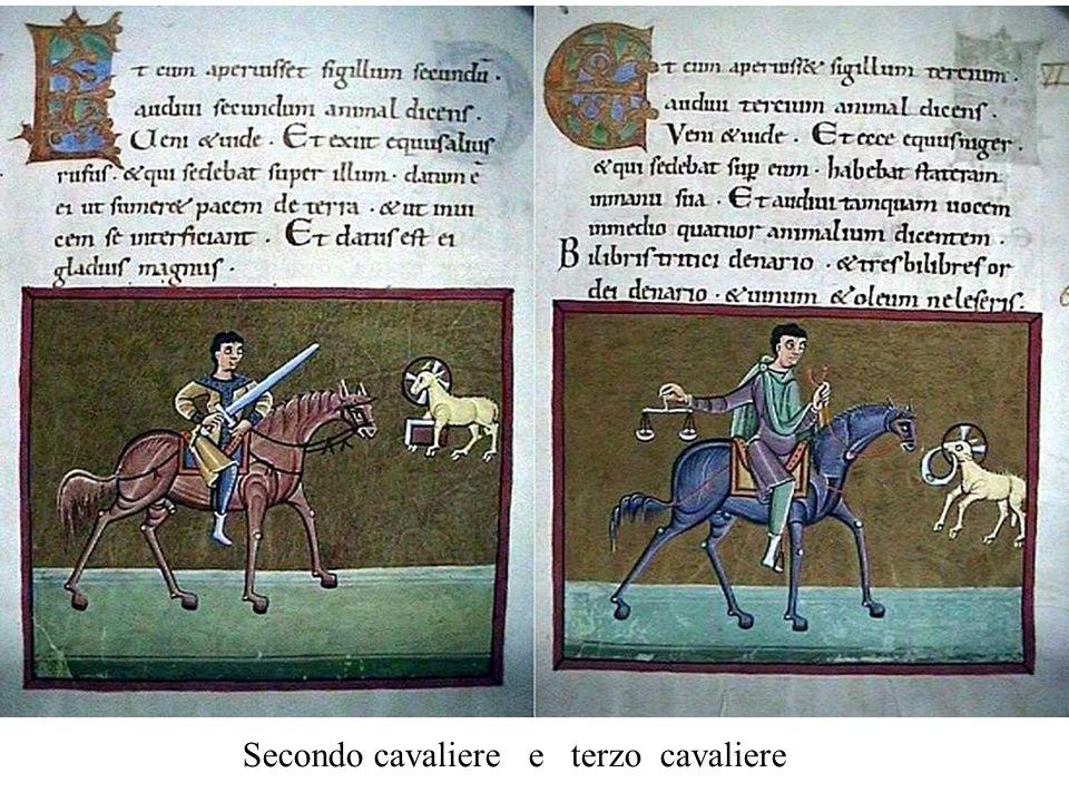 Secondo cavaliere e terzo cavaliere