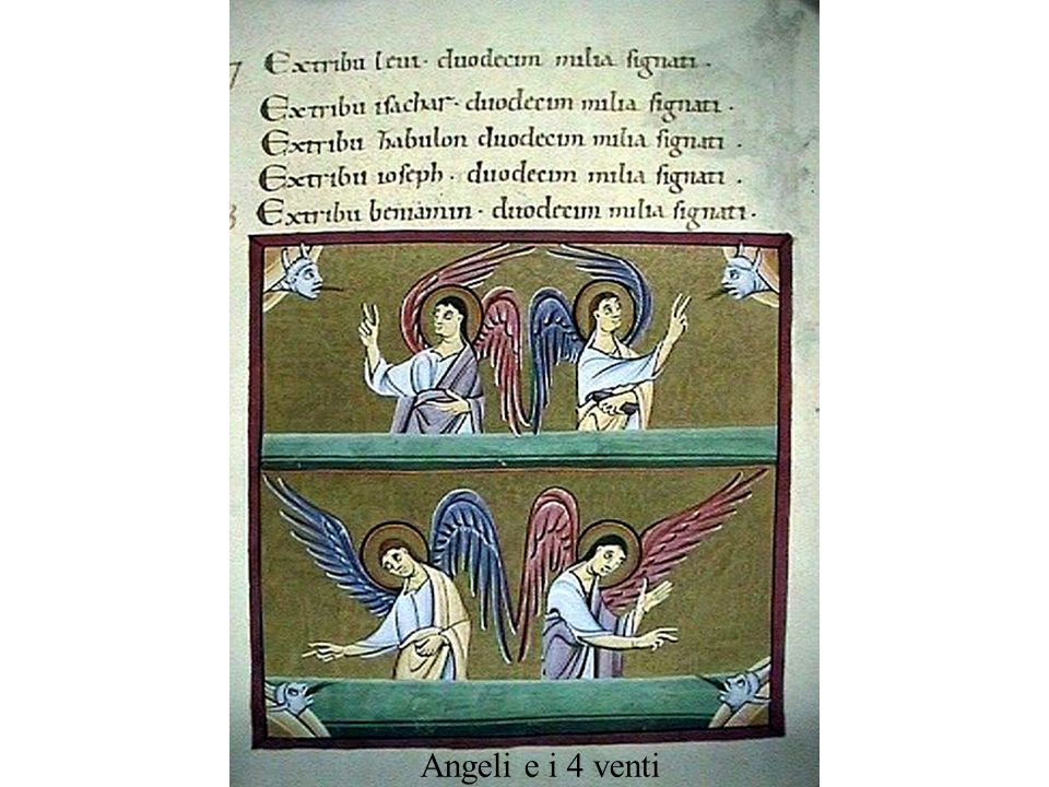 Angeli e i 4 venti