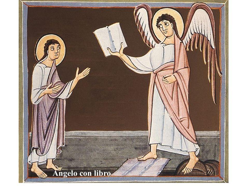 Angelo con libro