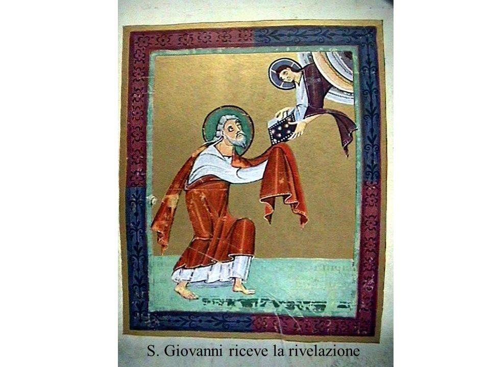 S. Giovanni riceve la rivelazione