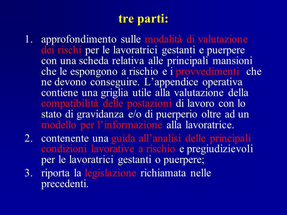 tre parti: